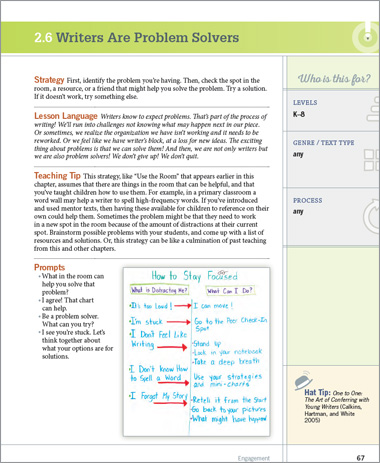 Writing Strategies Book by Jennifer Serravallo
