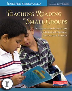 Teaching Reading In Small Groups By Jennifer Serravallo Differentiated