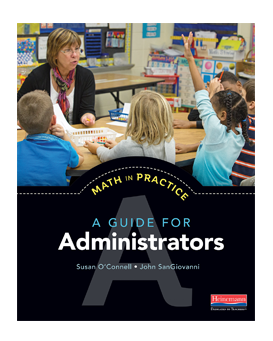 The book Math in Practice - A Guide for Administrators