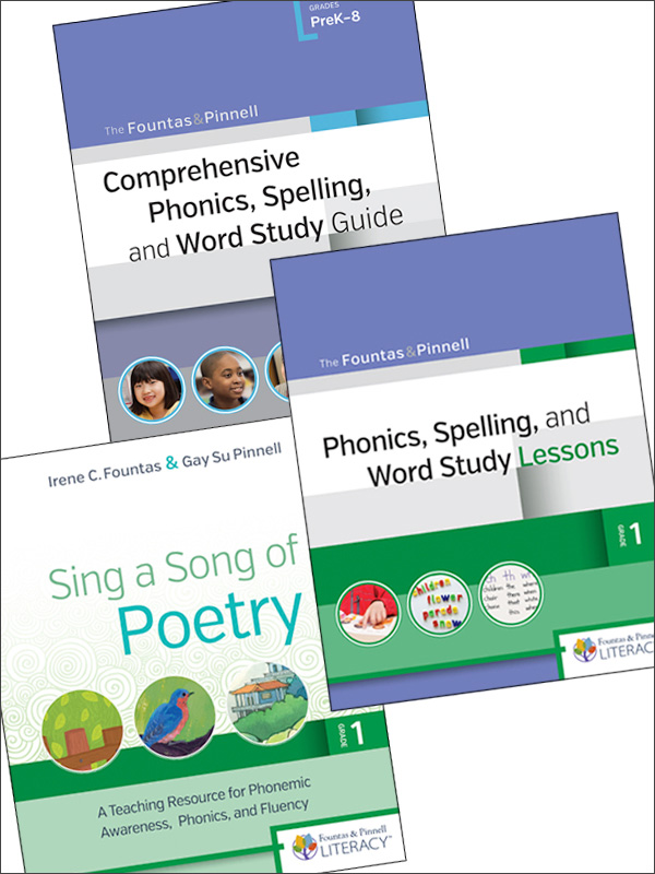 Phonics, Spelling, and Word Study: A Fountas & Pinnell Classroom™ Webinar Series