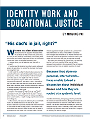 Identity Work and Educational Justice