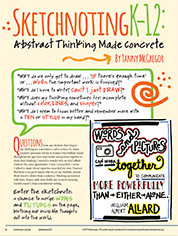 Professional Development Catalog-Journal Sketchnoting Article