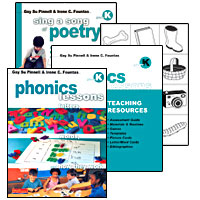 Phonics Lessons BUNDLE, Grade K