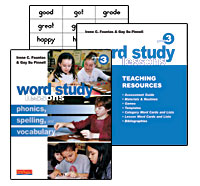 Word Study Lessons BUNDLE, Grade 3 cover