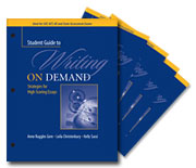 Learn more aboutA Student Guide to Writing on Demand