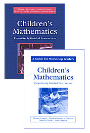 Cognitively guided instruction – by the numbers.