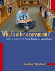 Whats After Assessment?/Follow-up Instructions for Phonics, Fluency and Comprehension cover