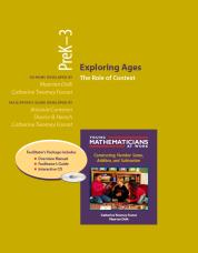 Exploring Ages, PreK-3 (Resource Package)