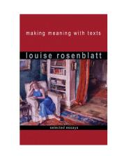 Making Meaning with Texts cover
