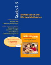 Multiplication and Division Minilessons, Grades 3-5 (Resource Package)