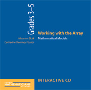 Working with the Array, Grades 3-5 (CD)