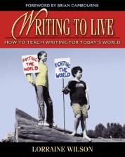 Writing to Live cover
