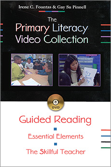 The Primary Literacy Video Collection; Guided Reading [DVD] cover