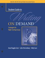 A Student Guide to Writing on Demand cover