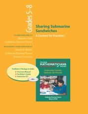 Sharing Submarine Sandwiches, Grades 5-8 (Resource Package)
