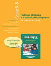YMAW Fostering Children's Mathematical Development, Grades 5-8 (Resource Package) cover
