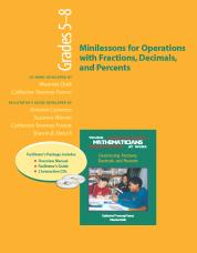 YMAW Minilessons for Operations with Fractions, Decimals, and Percents, Grades 5-8 (Resource Package)