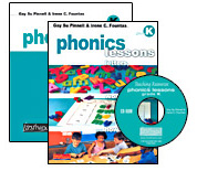 Phonics Lessons with CD-ROM, Grade K