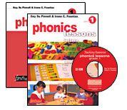 Phonics Lessons with CD-ROM, Grade 1