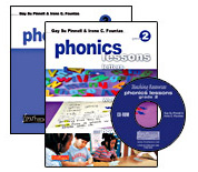 Phonics Lessons with CD-ROM, Grade 2