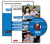 Word Study Lessons with CD-ROM, Grade 3