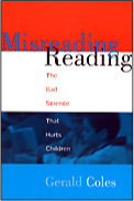 Misreading Reading cover