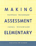 Making Assessment Elementary cover
