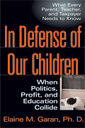In Defense of Our Children cover