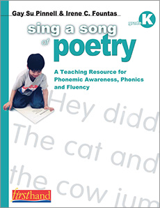 Sing a Song of Poetry, Grade K