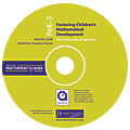 Fostering Children's Mathematical Development, Grades PreK-3 (CD)