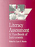 Literacy Assessment cover