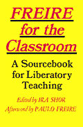 Freire for the Classroom cover