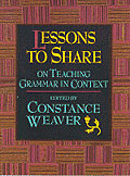 Lessons to Share on Teaching Grammar in Context cover