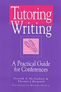 Tutoring Writing cover