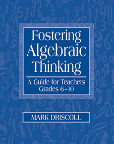 Fostering Algebraic Thinking cover