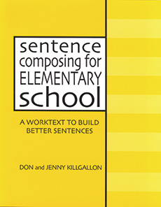 Learn more aboutSentence Composing for Elementary School