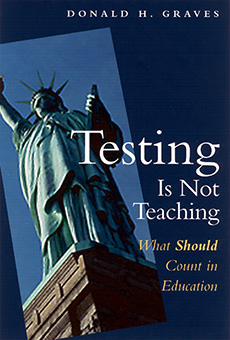 Testing Is Not Teaching cover