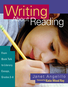 Writing About Reading cover