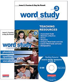 Word Study Lessons cover