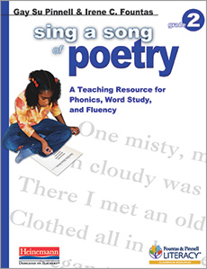 Sing a Song of Poetry, Grade 2 cover