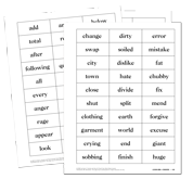 Word Study Lessons Student Set, Grade 3