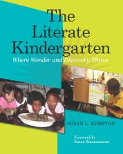 The Literate Kindergarten cover