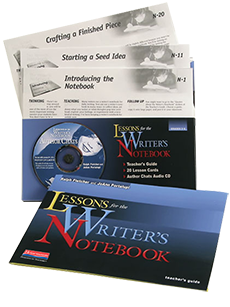 Lessons for the Writer's Notebook cover