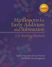 Minilessons for Early Addition and Subtraction cover
