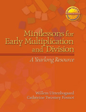 Minilessons for Early Multiplication and Division cover
