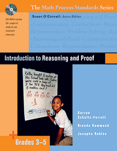Introduction to Reasoning and Proof, Grades 3-5 cover