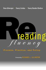 Rereading Fluency cover