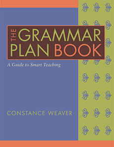 The Grammar Plan Book cover