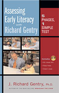 Assessing Early Literacy with Richard Gentry cover
