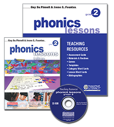 Phonics Lessons with CD-ROM, Grade 2 cover